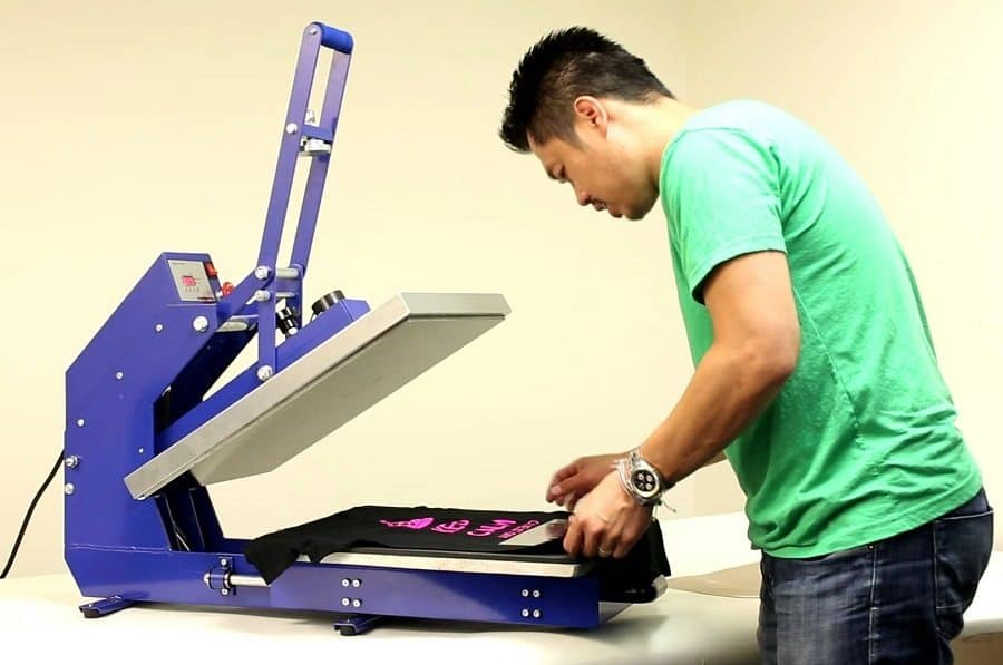 Use The Heat Press To Create Your Own T-Shirt Style